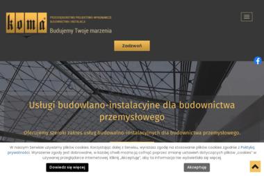 """P.P.W.B.i I. """"KOMA"""" Maciej Kowalski - Projekty Domów z Poddaszem Toruń"""