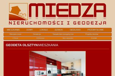 MIEDZA Nieruchomości i Geodezja - Agencja nieruchomości Olsztyn