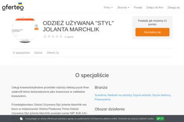 """ODZIEŻ UŻYWANA """"STYL"""" JOLANTA MARCHLIK - Koszulki Męskie z Nadrukiem SĘDZISZÓW MAŁOPOLSKI"""