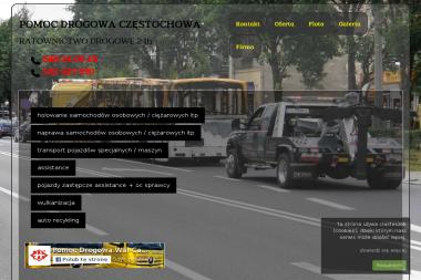 Pomoc Drogowa P.H.U. WAL-CAR Ratownictwo Drogowe - Przeprowadzki Częstochowa