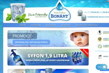 WODA BONART S.c. - Dostawy wody Wrocław