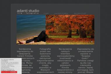 """""""Adanti"""" Studio Video wideofilmowanie fotografia ślubna kamerzysta weselny Częstochowa - Sesje zdjęciowe Częstochowa"""
