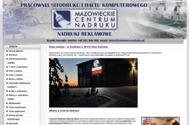 Mazowieckie Centrum Nadruku - Drukarnia Płock