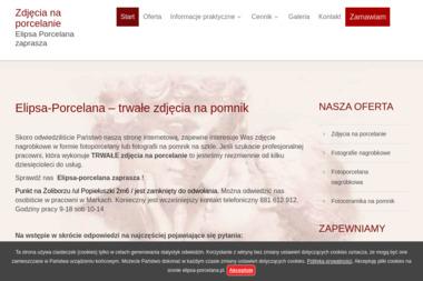 Elipsa-porcelana Zdjęcia na porcelanie fotografia nagrobkowa - Wykonanie Sesji Zdjęciowych Warszawa