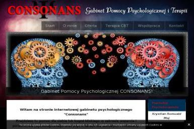 Gabinet Pomocy Psychologicznej - CONSONANS - Pomoc Psychologiczna Wrocław