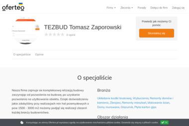 TEZBUD Tomasz Zaporowski - Brukarze Międzyrzecz