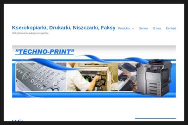 TECHNOPRINT - Kserokopiarki Katowice