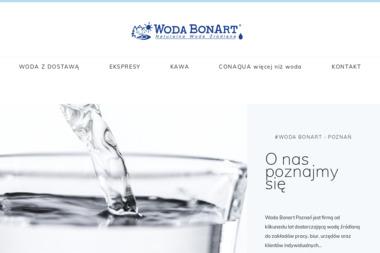 Woda Bonart Poznań Anita Dyzert - Dostawy wody Poznań