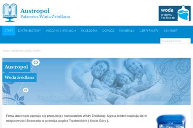 Austropol-Soki Sp. z o.o. - Dostawy wody Wisznia Mała