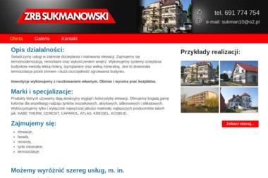 Zakład Remontowo-Budowlany Sukmanowski - Malowanie elewacji Wawelno