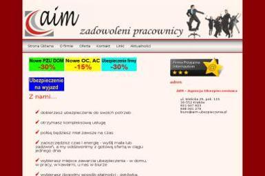 AIM Agencja Ubezpieczeniowa - Ubezpieczenia Grupowe Dla Pracowników Kraków