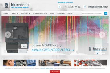 BIUROTECH Kserokopiarki, drukarki, niszczarki - sprzedaż i serwis - Kserokopiarki Kalisz