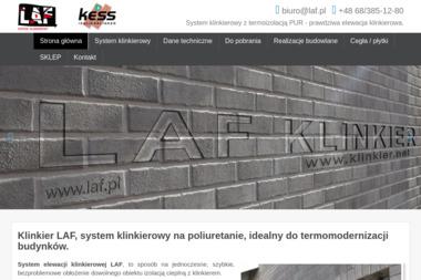 LAF Klinkier - Ocieplanie Pianką PUR Cigacice