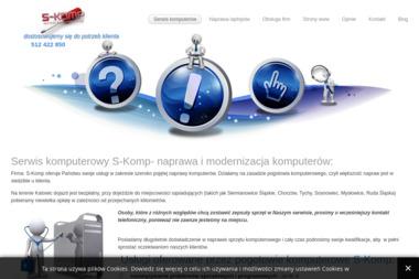 Serwis komputerowy S-Komp - Pozycjonowanie Stron w Google Katowice