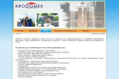 KRODOMEX sp. z o.o. - Elewacje Krotoszyn