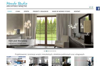 Mondo Studio - architekt wnętrz - Inteligentny dom Warszawa
