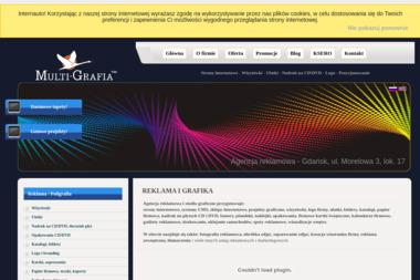 Multi-Grafia - Strona Internetowa Piekoszów