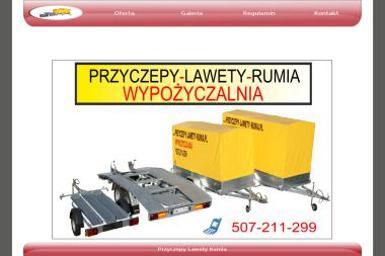 Przyczepy-lawety-rumia - Wypożyczalnia samochodów Rumia