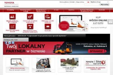 Toyota Material Handling Polska Sp. z o.o. - Wózki widłowe Jaktorów