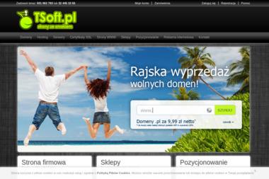 Przemysław Oleksy Tsoft.pl - Strony WWW Sosnowiec