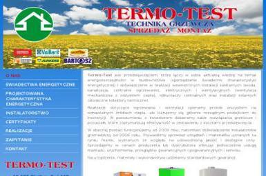 Joanna Gruszecka TERMO-TEST - Instalacje grzewcze Olsztyn
