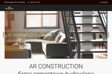 AR Construction - Ocieplanie poddaszy Mirsk