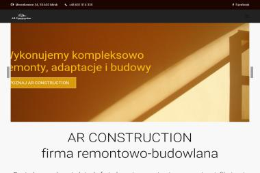 AR Construction - Firma remontowa Mirsk