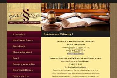 Kancelarie Prawno-Podatkowe PARAGRAF Oddział Bielsko-Biała - Radca prawny Bielsko-Biała