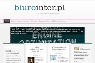 BiuroInter.pl - Wirtualne biuro Warszawa