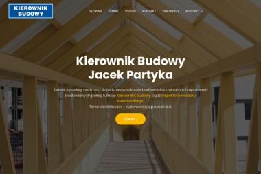 Jacek Partyka - Kierownik budowy Poznań