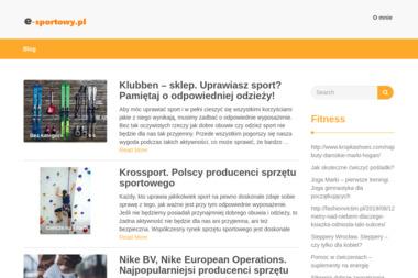 E-sportowy | MSport Hurtownia Artykułów Sportowych i Turystycznych Tomasz Woźniak - Obuwie dla dzieci i młodzieży Łódź