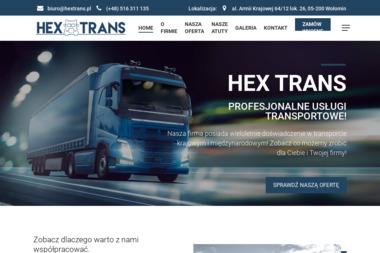 HENRYK KUNA HEX-TRANS - Transport ciężarowy krajowy Wołomin