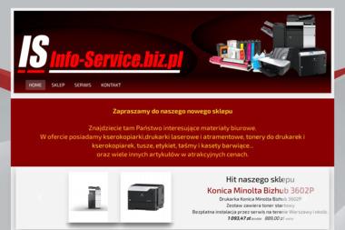 INFO SERVICE Daniel Jesionowski - Serwis sprzętu biurowego Warszawa