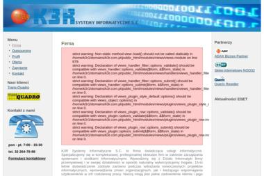 K3R Systemy Informatyczne S.C. Robert Rzepka, Zdzisław Rzepka - Internet Dąbrowa Górnicza