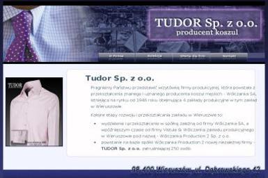 Tudor Sp. z o.o. - Szwalnia Wieruszów