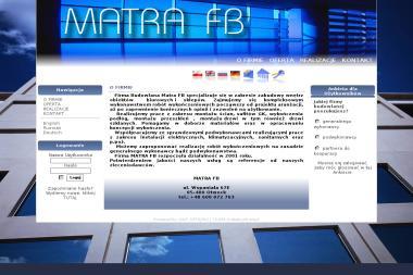 Matra FB Jakub Materliński - Remont i Wykończenia Błszki