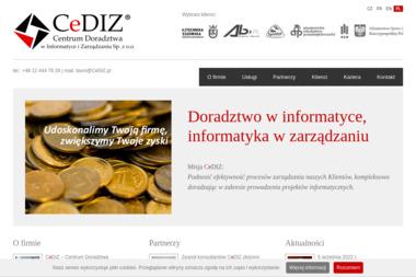 Centrum Doradztwa w Informatyce i Zarządzaniu - CeDIZ - Biznes Plan Kawiarni Kraków