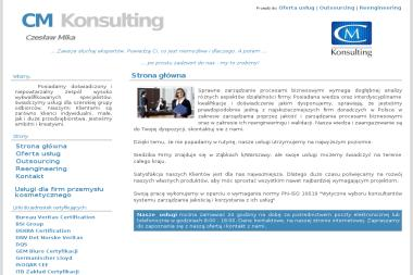 CM Konsulting - Czesław Mika - Obsługa prawna firm Ząbki