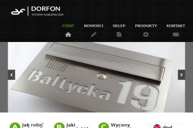 DORFON Andrzej Małczak DOMOFONY - Urządzenia dla firmy i biura Wroclaw