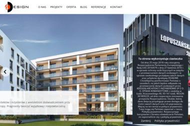"""""""4Design Architekci i Inżynierowie Gola Głażewski s.c."""" - Projekty domów Łódź"""