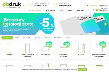 PBDRUK.PL - Druk katalogów i folderów Olsztyn