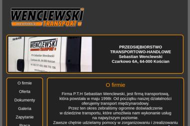 P.T.H Sebas tian Wenclewski - Firma transportowa Kościan