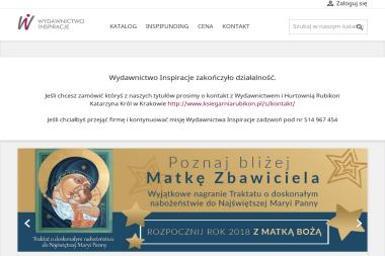 WYDAWNICTWO INSPIRACJE Marcin Zimoń - Ulotki Bielsko-Biała