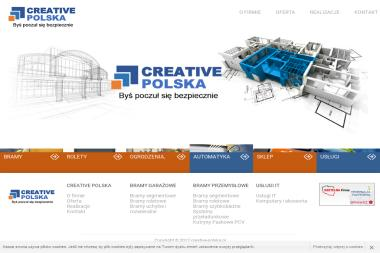 CREATIVE POLSKA - Bramy garażowe Częstochowa