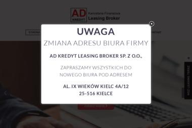 Kancelaria Finansowa AD Kredyt - Leasing Auta Używanego Kielce