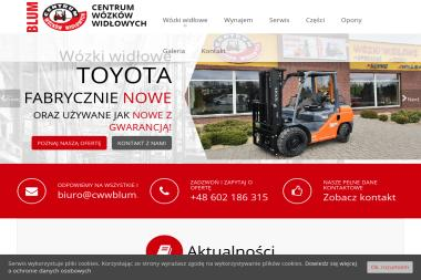Centrum Wózków Widłowych BLUM Ireneusz Blum - Wózki widłowe spalinowe nowe Łochowo