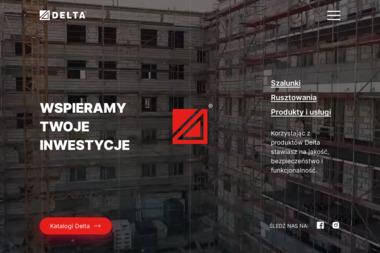 Delta Marcin Sadlak - Wykonanie Konstrukcji Stalowej Warszawa