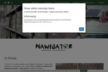 Firma Handlowa NAWIGATOR - Archiwizacja dokumentów Olsztyn