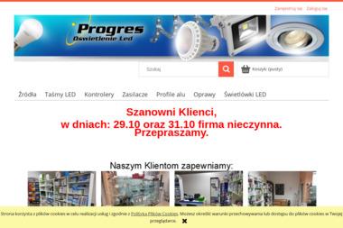 FH Progres - Oświetlenie LED - Sprzedaż Oświetlenia Gliwice