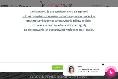 Prodeck Sp. z o.o. - Skład drewna Wieliczka